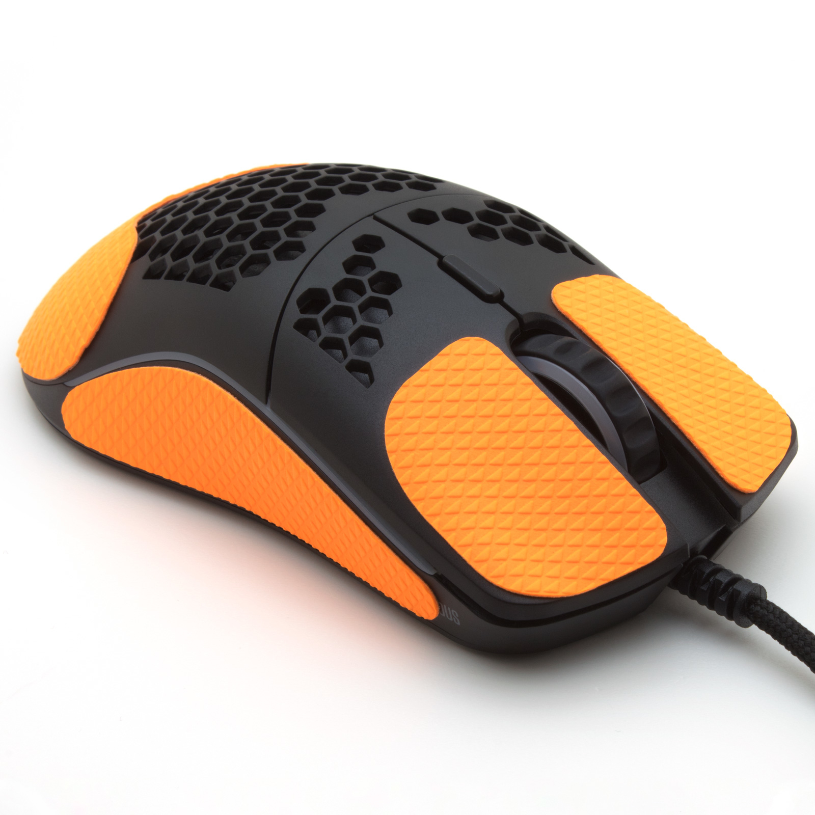 Mouse grip tape for Glorious O minus from the brand TrueGrip - front right view