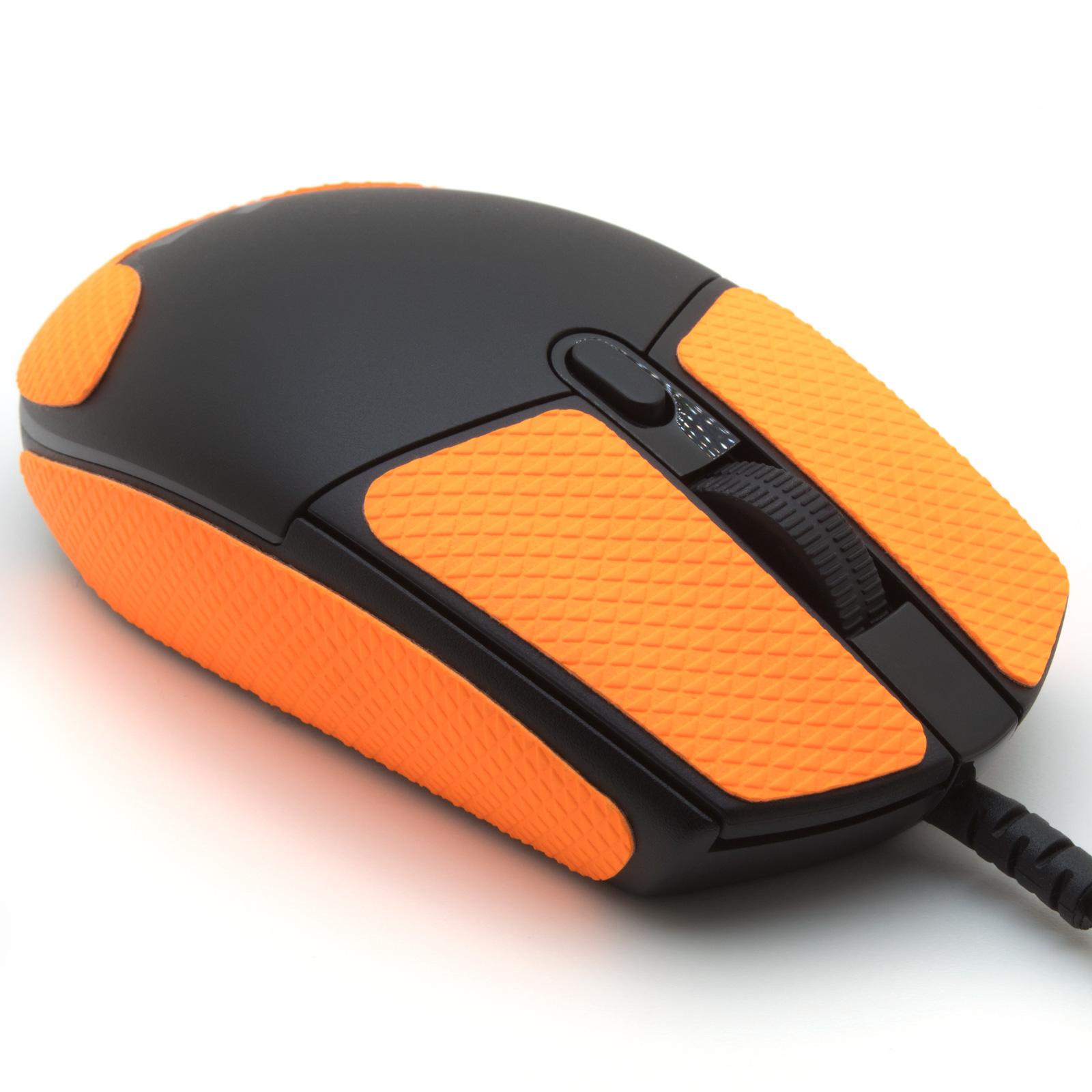 Grip pour souris Logitech G PRO Hero de la marque TrueGrip - vue avant droit
