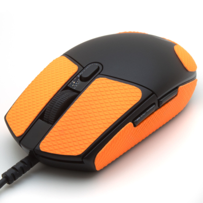 Mouse grip tape for Logitech G305 from the brand TrueGrip - front left view