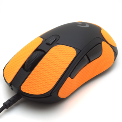 Mouse grip tape for Logitech G703 from the brand TrueGrip - front left view
