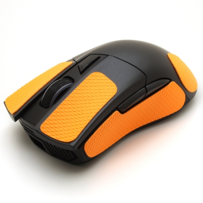 Mouse grip tape for Asus ROG Gladius II from the brand TrueGrip - front left view