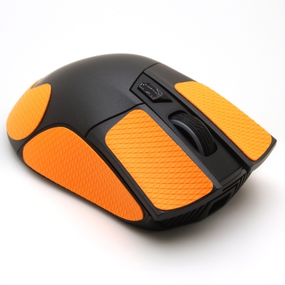 Mouse grip tape for Asus ROG Gladius II from the brand TrueGrip - front right view