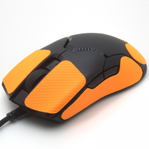 Mouse grip tape for Razer VIPER from the brand TrueGrip - front left view
