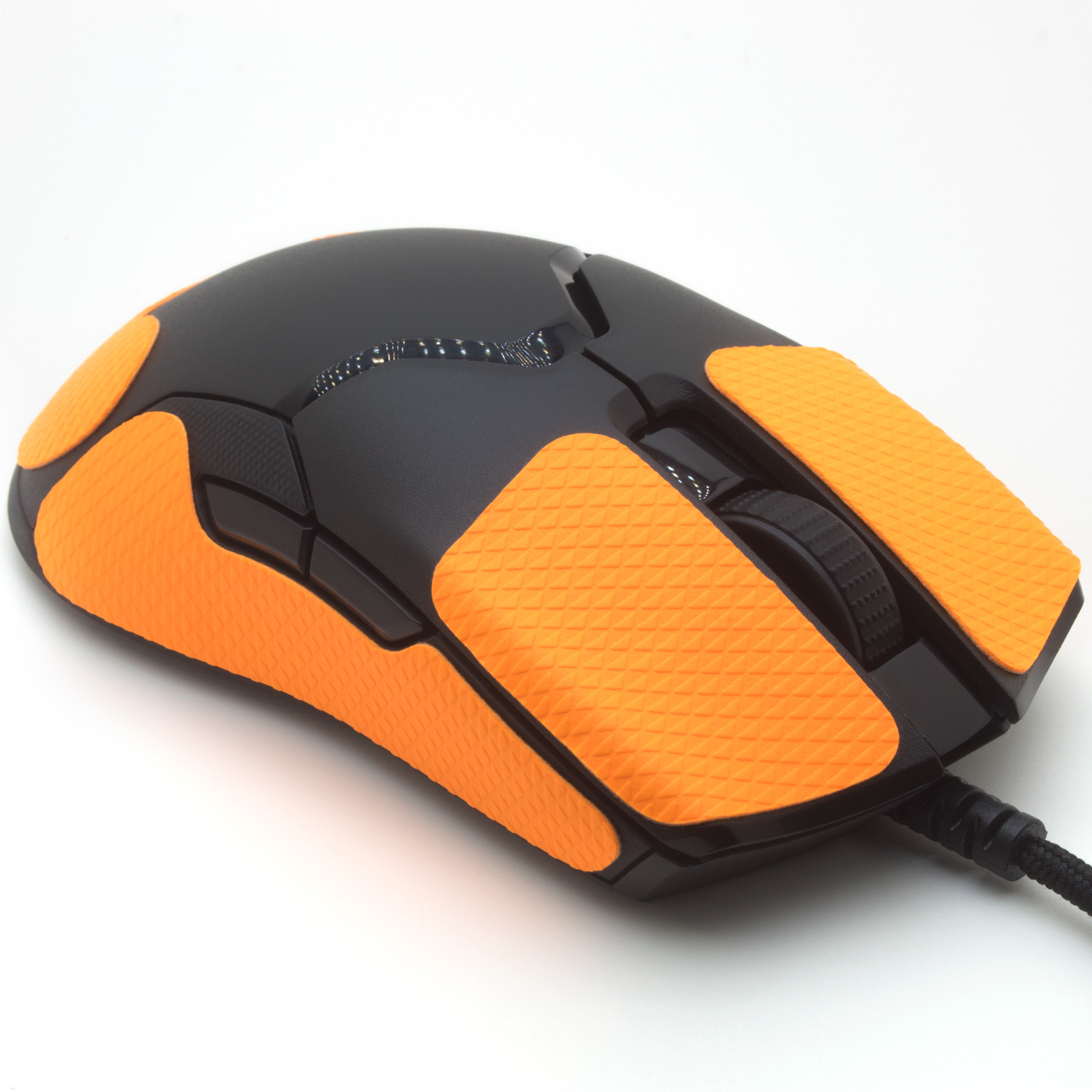 Mouse grip tape for Razer VIPER from the brand TrueGrip - front right view